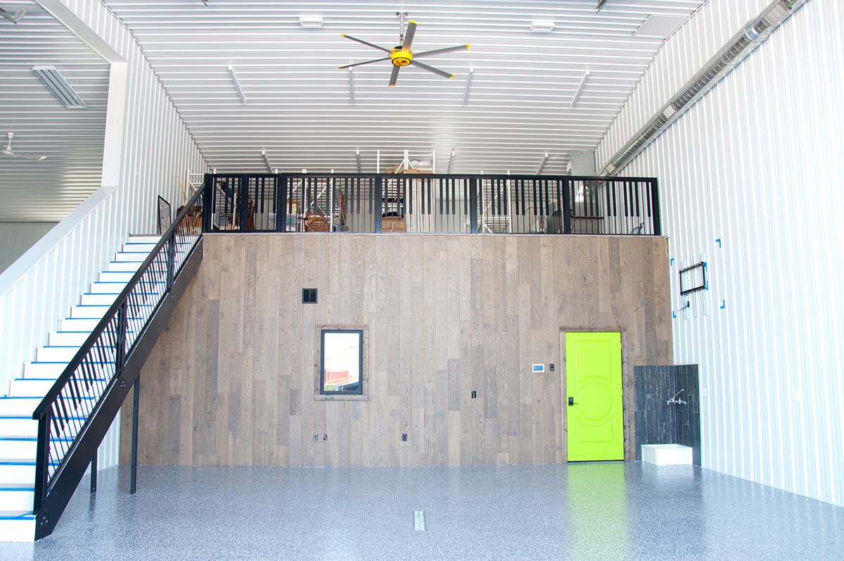 customized interior storage condo
