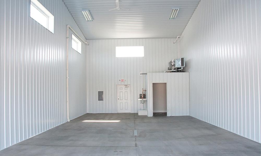 Unfinished Interior Storage Condo